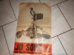 Jo Sony musicien orchestre de danse affiche