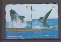 Argentine YV 2324/5 N 2002 Baleine - Baleines