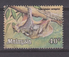 Maleisie, Malaysia Gestempeld, Used ; Vleermuis, Chauve-souris, Murcielago, Fledermause, Bat - Vleermuizen