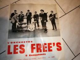 Les FREE�S orchestre 8 ex�cutants, Fizelier