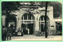 31 LUCHON - Façade De La Gare Du Chemin De Fer De Superbagnères - Luchon