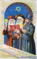 AK JUDAIKA DREI Von Juden Und Jüdischen Gebets   IMPORT ALTE POSTKARTE - Judaisme