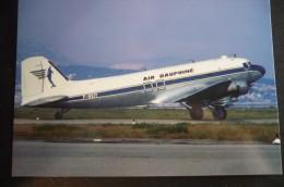 AIR DAUPHINE   DC 3    F BEIY - 1946-....: Moderne