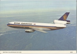 CPM - BRITISH CALEDONIAN AIRWAYS - McDonnell Douglas DC 10-30 - Edition Pub - 1946-....: Moderne