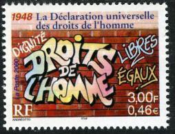 FRANCE 3354** 3f (0,46€)  Multicolore  Le Siècle Au Fil Du Timbre 1948 La Déclaration Universelle Des Droits De L´homme - Unused Stamps