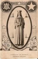 PONTMAIN (53220) - RELIGION : Notre-Dame De Pontmain - Souvenir Noéliste. Carte Extrêmement Rare. - Pontmain