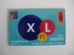 Phonecard/ Telécarte/ Cartão Telefónico XL - PT - Oferta 500 Escudos - Portugal