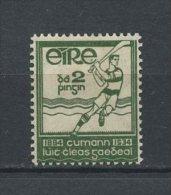 IRLANDE 1930 N° 64 * = MH Légère Trace TTB Cote 1,50 € Sports Association Athlétique Gaélique Hockey - 1922-37 Stato Libero D'Irlanda