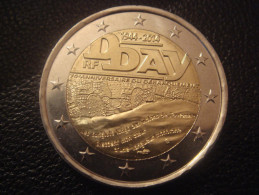 FRANCE 2 EURO COMMEMORATIVE  1944-2014 D DAY NEUVE UNC - Frankrijk