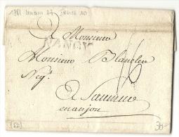 Province De Lorraine - Moselle Pour Saumur. 1781. MP Lenain 27. Indice 10 - 1701-1800: Voorlopers XVIII