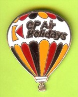 Pin Montgolfière CP Air Holidays - 3E26 - Fesselballons