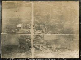 60 -Courcelles- Epayelles -Vue Aérienne Oblique - Exceptionnelle Photographie Du Renseignement Aérien  Du 18 Juin 1918 - - Non Classés