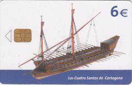 SPAIN - Old Boat, 08/03, Used - Spain