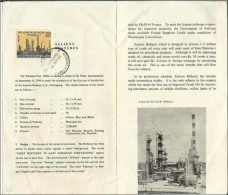 Pakistan 1969 First Refinery In East Pakistan Chittagong With Stamp Used Information LEAFLET BROCHURE - Pakistan