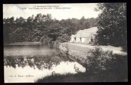 Cpa Du 56 Les Forges De Salles étang Inférieur ........ Cleguerec Sainte Brigitte Perret  JUI11