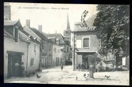 Cpa Du 18 Charenton  Place Du Marché    ...  Saint Amand Montrond     JUI11 - Saint-Amand-Montrond