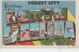 FOREST CITY ( Souvenir ) - Asheville