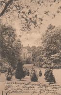 5313. Gelaufene Ansichtskarte vom Goethepark im Posen, Poznan. Q1/2!