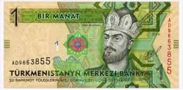 TURKMENISTAN 1 MANAT 2014 Pick New Unc - Turkmenistan