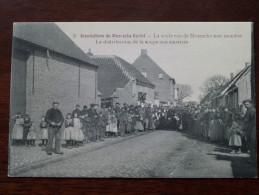 MOERZEKE Castel Inondations De La Distrubution De La Soupe Aux Sinistrés (8) Anno 19?? ( Zie Foto Voor Details ) - Hamme
