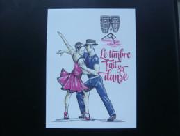 FRANCE ENTIER POSTAL LA DANSE FETE DU TIMBRE  2014 NEUF - Prêts-à-poster:  Autres (1995-...)