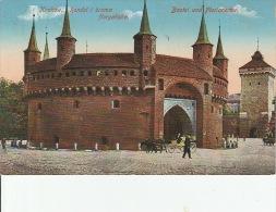 5327. Gelaufene Ansichtskarte vom Wawel im Krakow. Q1!