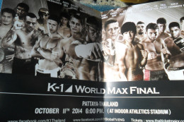 Flier K 1 World Max Boxing - Boksen