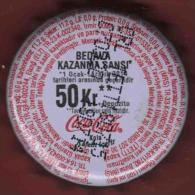 Turkish Soda Crown Cap (COCA COLA LIGHT)
