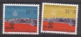 PGL AA0684 - LIECHTENSTEIN Yv N°353/54 ** - Liechtenstein