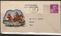 USA 1947 ENVELOPPE EVENEMENTIELLE  BATEAUX - Event Covers