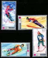 Pologne 1989/92** -  Jeux Olympiques De Sapporo 1972  MNH