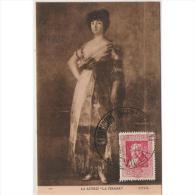 PTRTP0710C-LFTD4617TPROAC. Tarjeta Postal De España.Pintura.La Actriz LA TIRANA De GOYA.( Museo De EL  PRADO) - Sin Clasificación