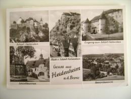 GRUSS  AUS    HEIDENHEIM     ALLEMAGNE GERMANIA  GERMANY   Deutschland  Deutsche     CIRCULE' - Heidenheim