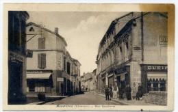 16 - MENTBRON - Rue Gambetta - Francia