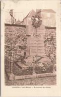 CHANCENAY - Monument Aux Morts - Autres Communes