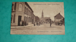 NEUF-BERQUIN (Nord) - Place - Rue De L'Eglise - France