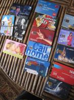13 Télécartes Dont Une De S SIGNORET - Tarjetas Telefónicas