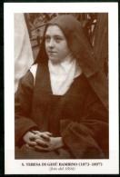 Santino - S. Teresa Di Gesu' Bambino - (foto Del 1894) - Andachtsbilder
