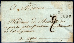 Gers: 31/LECTOURE Sur LAC De 1803 - Marcophilie (Lettres)