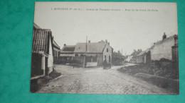 SOUCHEZ ( P - De - C) Avant La Terrible Guerre - Rue De La Croix De Grès - France