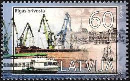 Latvia Lettland Lettonie 2011 (11) Sea Ports Of Latvia Freeport Of Riga  Ships - Latvia