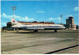 TOULOUSE BLAGNAC 1978 AEROPORT LA PISTE AIR INTER CARTE EN BON ETAT - Toulouse
