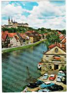 Bamberg: MERCEDES HECKFLOSSE, OPEL REKORD P2, GLAS ISAR, VW 1200 & T1-BUS - Michelsberg Mit Kranen (Boatlift) - (D) - Passenger Cars