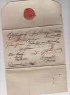 LIECHTENSTEIN - LSC - EN RECOMMANDE POUR LA GALICE - 1843 + SCEAU A VOIR - Liechtenstein
