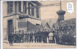 42-SAINT-ETIENNE-ENTREE DES ATELIERS DES HOUILLERES DE SAINT-ETIENNE-TOP - Saint Etienne