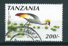 1990 Tanzania 200Sh.birds,vogels,oiseaux ,vögel Used/gebruikt/oblitere - Tanzanie (1964-...)