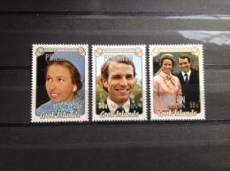 Northern Cookeilanden - Postfris / MNH - Complete Serie Huwelijksjubileum 1973 - Penrhyn