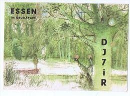 GERMANY - POSTCARD / QSL - GERMAN KURZWELLEN STATION - ESSEN - DJ7IR - 1963 - Tarjetas QSL
