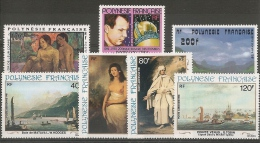 POLYNESIE - POSTE AERIENNE - 1981  (**) N° 160 A 166 - COTE 39,00 EUROS - Nuevos