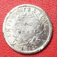 DEMI FRANC NAPOLEON Ier - G. 50 Centimes